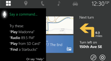 Cortana in the Car: VUI for Windows Automotive